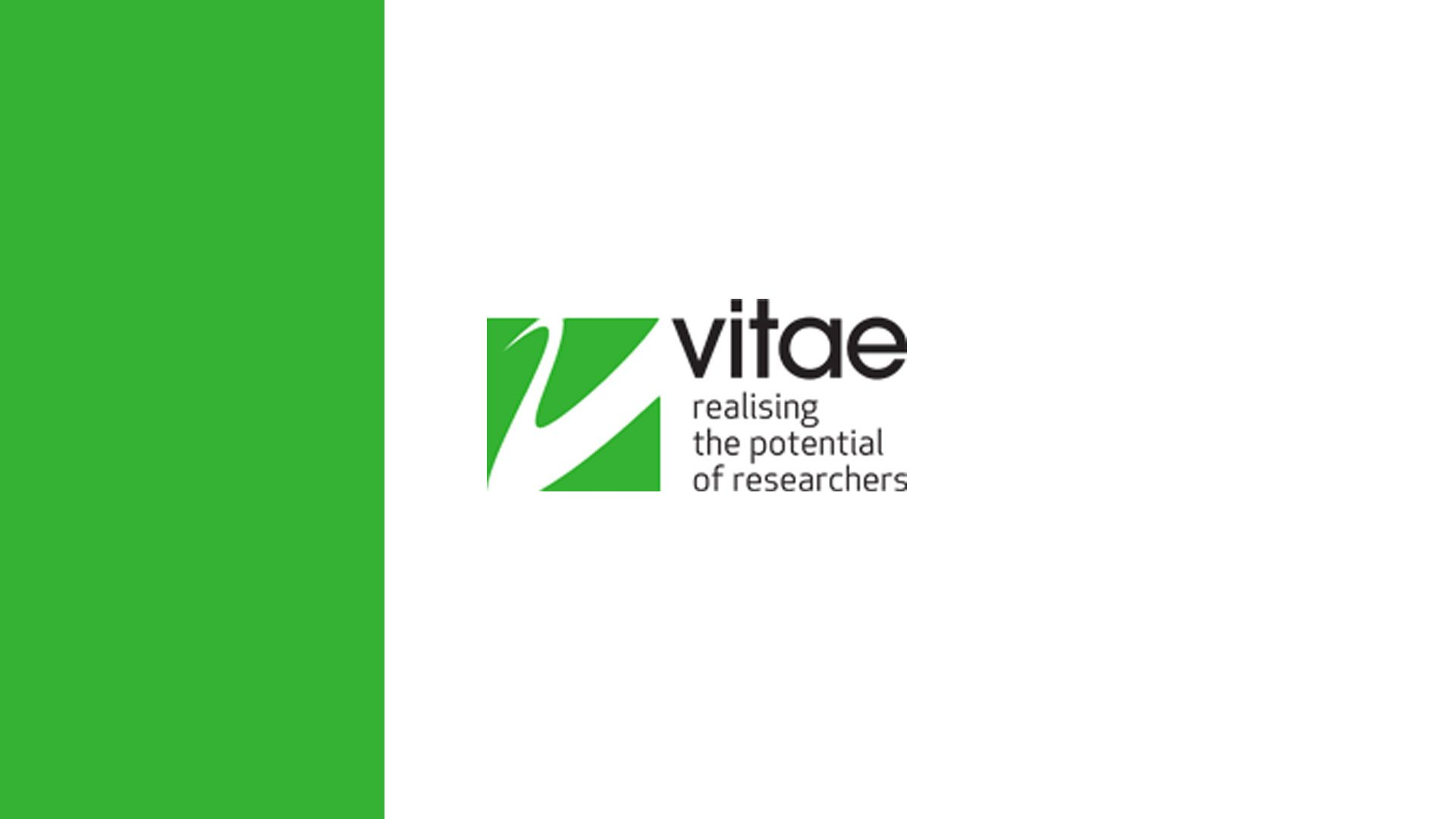 Vitae: Connections: Getting to Grips