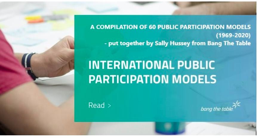 International Public Participation Models 1969-2020